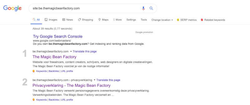 kunnen zoekmachines je site crawlen