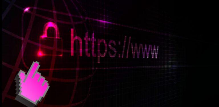HTTPS beschermde website