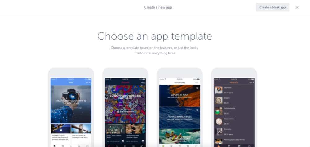 zelf een app maken met Shoutem