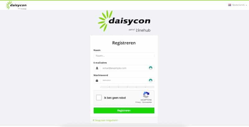 Jezelf aanmelden bij Daisycon